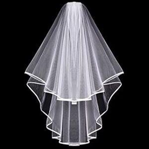Bridal bachelorette Party veil with comb
